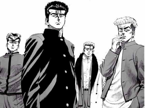 ろくでなしBLUES】葛西と鬼塚、ともに前田に更生させられた二人だが ...